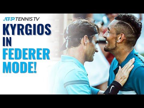 When Nick Kyrgios Goes Roger Federer Mode!