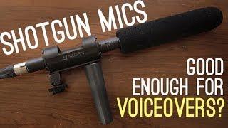 Shotgun Mics - Good Enough For Voice Over?