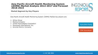 Asia-Pacific Aircraft Health Monitoring Global Market Review