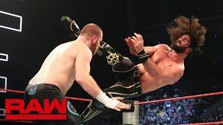 Seth Rollins vs. Sami Zayn: Raw, May 27, 2019