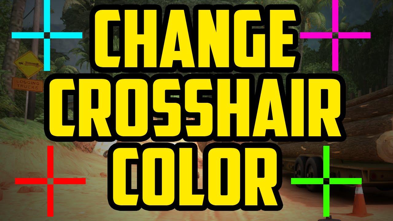 Mt4 crosshair color change