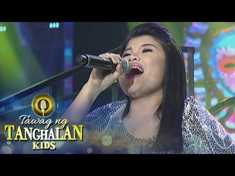 "Tawag ng Tanghalan Kids: Pauline sings ""Salamat, Salamat Musika"""