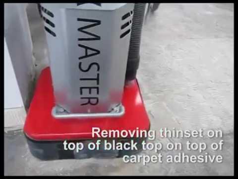 How to Remove Glue, Mastic, Epoxy and Thinset Demo   WerkMas