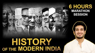 Complete Modern Indian History   6 Hours Marathon Session   UPSC CSE / IAS 2020/2021   Anuj Garg