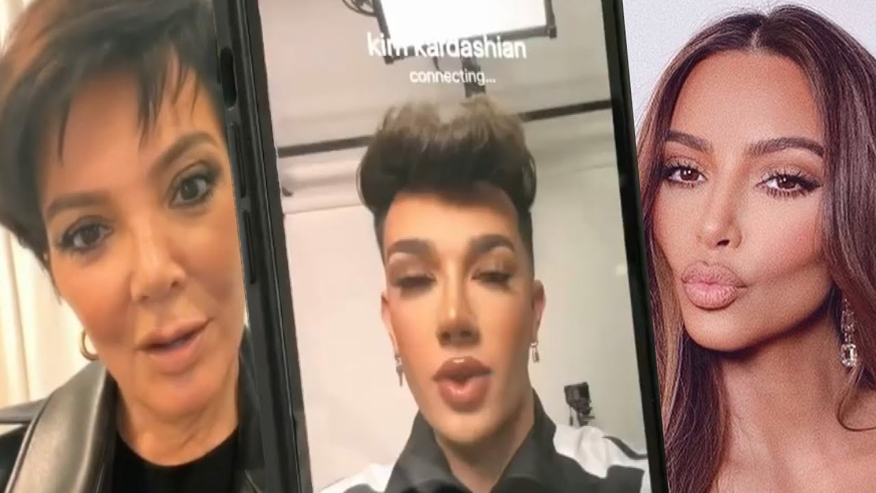 Watch James Charles PRANK the Kardashians
