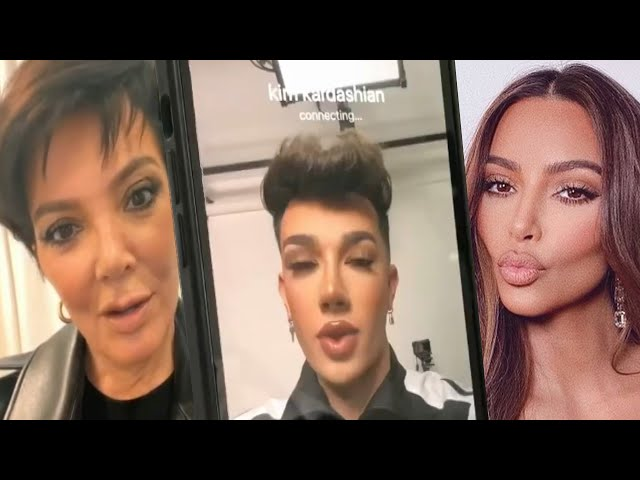 Watch James Charles PRANK the Kardashians