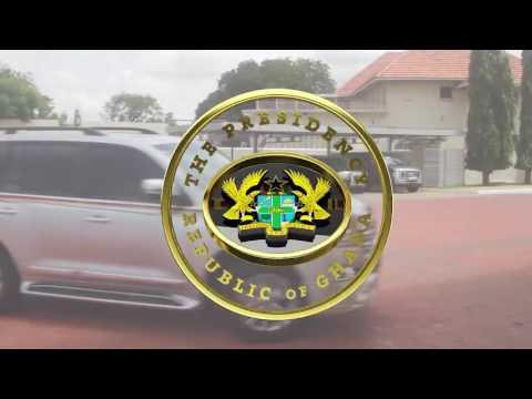 "President Akufo-Addo meets ""The Three Johns"""
