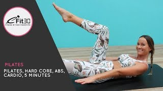 Pilates, 5 Minute, 100