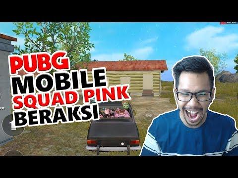 SQUAD PINK SURAM - PUBG MOBILE INDONESIA