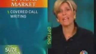 Suze Orman Endorses Covered Calls