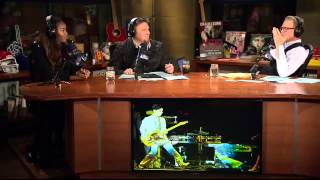 The Artie Lange Show - Damaris Lewis (in-studio) Part 2