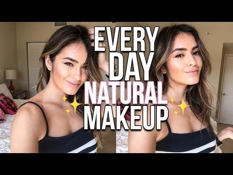 Natural Gold Smokey Eye Makeup Tutorial