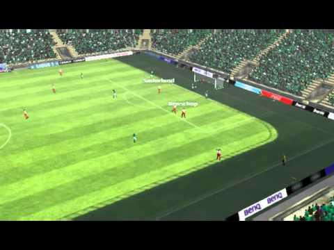 AS Saint-Etienne - Stade Brestois 29 - Gol de Brandão 70 minutos
