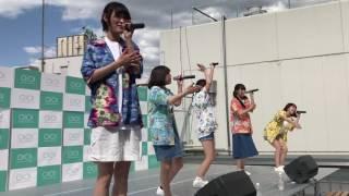 2017/06/04 新宿マルイメン屋上にて lyrical school 7/18リリース 夏休...
