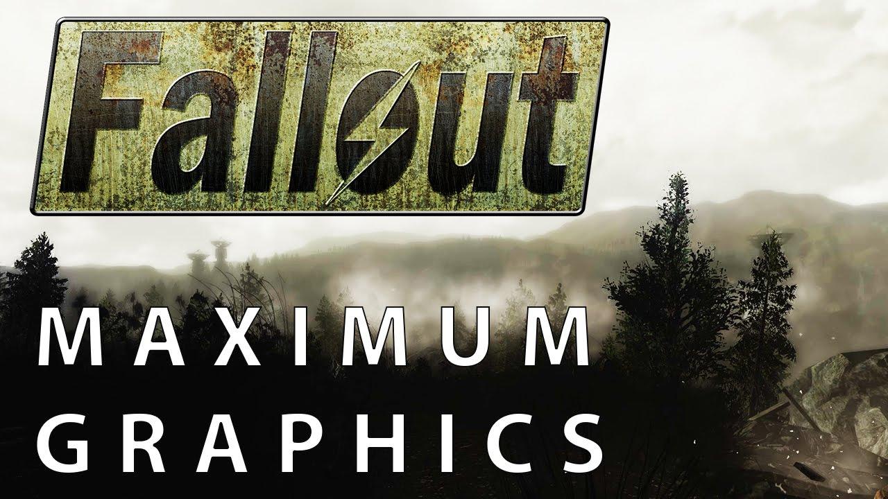 Fallout 3 – Maximum Graphics Mod Overhaul vs  Vanilla Graphics Comparison  [WQHD|1440p]