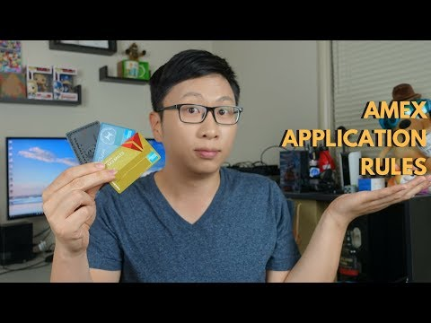 Rules to Know for Amex Credit Card Applications