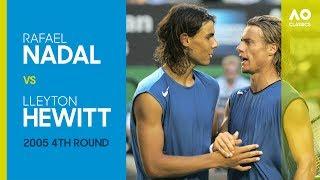 AO Classics: Rafael Nadal v Lleyton Hewitt (2005 4R)