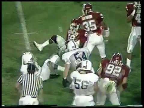 NCAA Football - 1986 - Orange Bowl - Oklahoma Sooners Vs Penn State Nittany Lions - 1st 3 Qtrs