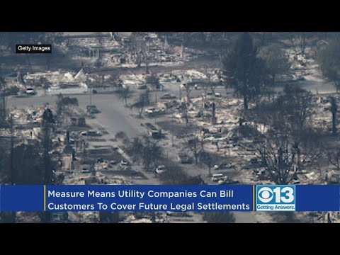 Gov. Brown Signs Law Allowing Utilities To Charge Ratepayers For Costs Related To 2017 Wildfires