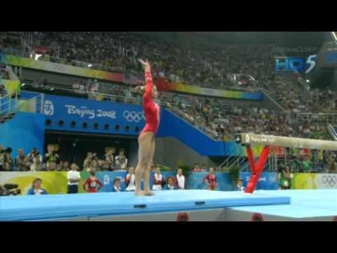 Alicia Sacramone - Balance Beam - 2008 Olympics Team Final