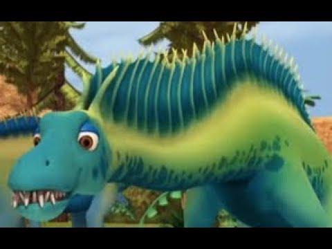 Поезд динозавров Пастбища Амаргазавров Развивающий Мультфильм про динозавров