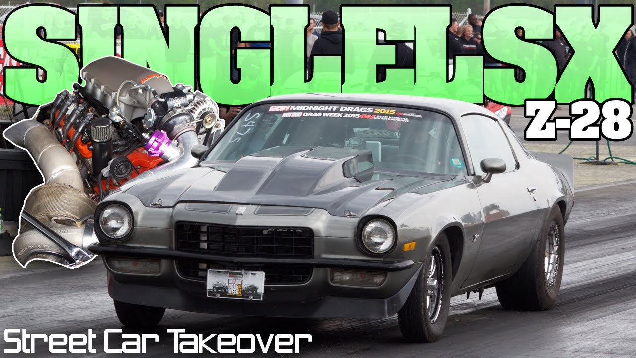 Cash For Cars >> Turbocharged Lsx Second Gen Camaro Z-28 street car racing Indy 2016 - YouTube