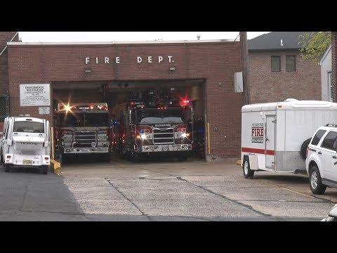 Palisades Park,NJ Fire Department PK 2 & PK Truck