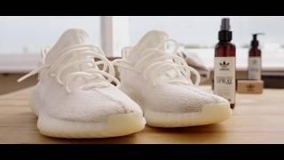 Yeezy Boost 350 V2 Cream White reinigen mit Adidas Originals - Sneaker-Cleaner.com