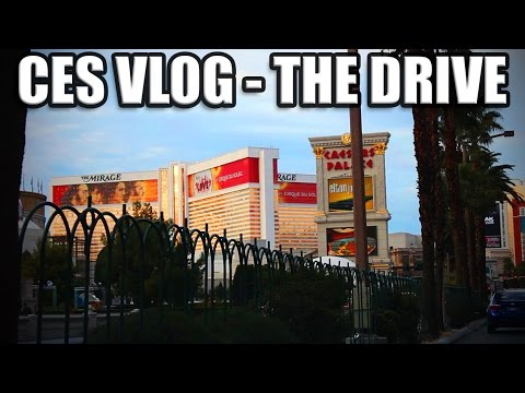 CES Day 1 - Travel Vlog and Camera Stuff