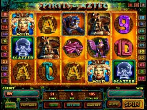 spirits of aztec игровой автомат