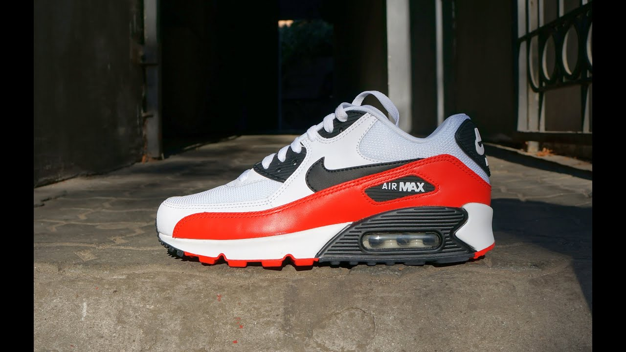 bright red air max 90