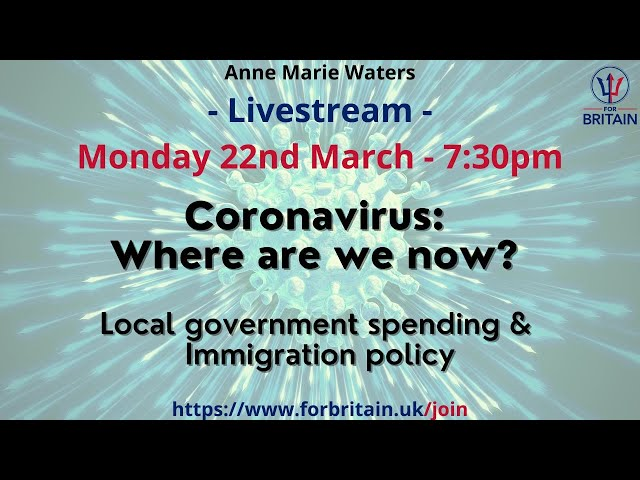For Britain Live: 22nd March 2021