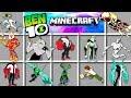 Minecraft - BEN 10 Comando! | Conviértete en ALIEN, OMNITRIX y más!!