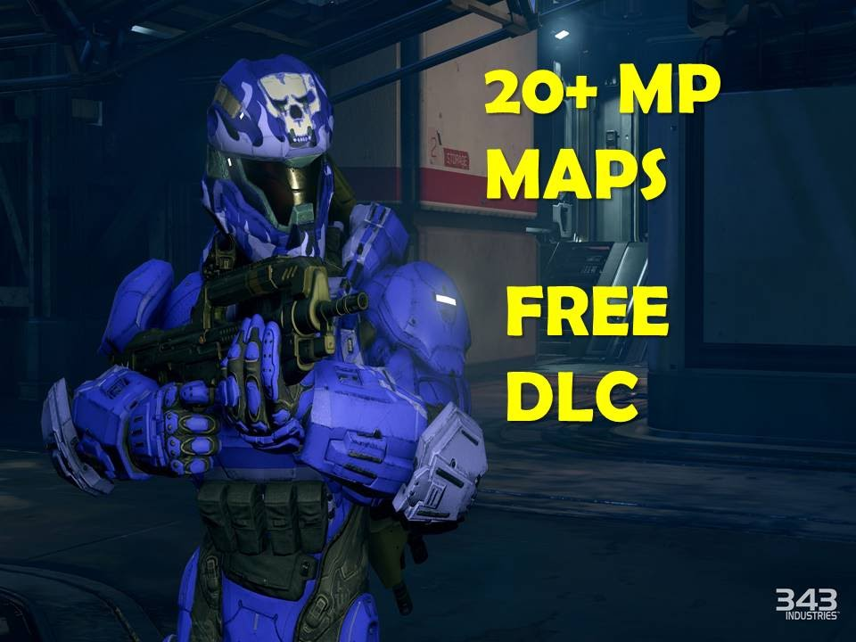 Halo 5 Guardians NEWS - 20+ MULTIPLAYER MAPS and FREE DLC - Halo 5  Guardians Multiplayer