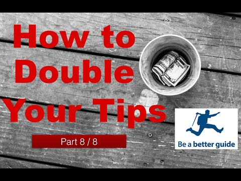 The 6 most common mistakes tour guides make when asking for tips - What not to do! Part 8 of 8