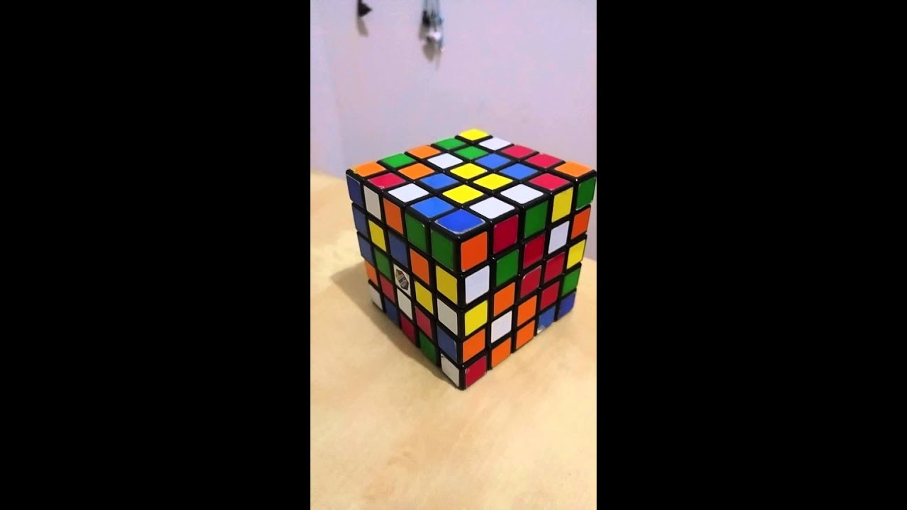 how to solve a 5x5 rubik 39 s cube youtube. Black Bedroom Furniture Sets. Home Design Ideas