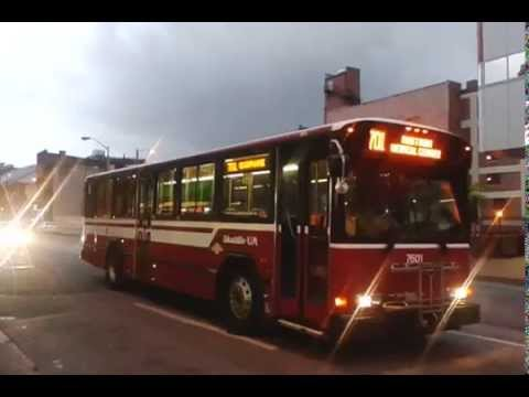 UNIVERSITY OF MARYLAND:Gillig 7601@ Saratoga&Eutaw Streets