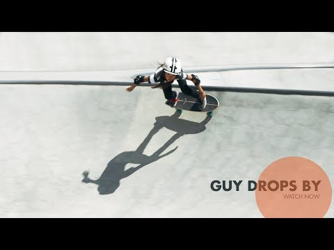 GUY DROPS BY