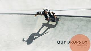 GUY DROPS BY