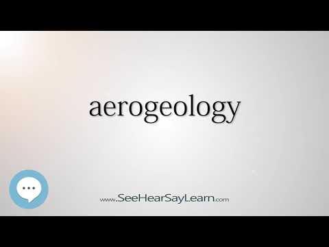aerogeology