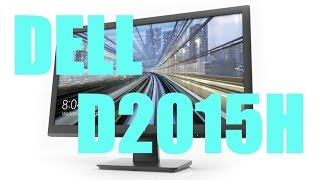 Dell D2015H 20 Inch Full HD LED Monitor Review amp Hands On
