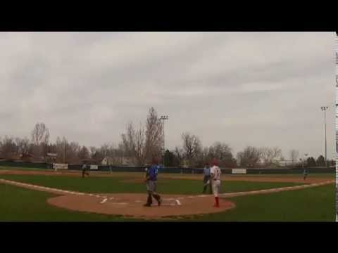 Jose Quezada goes deep for the Norse