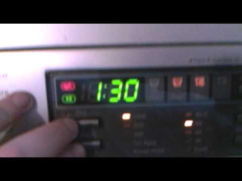 Lg Washing Machine How To Activate The Child Lock