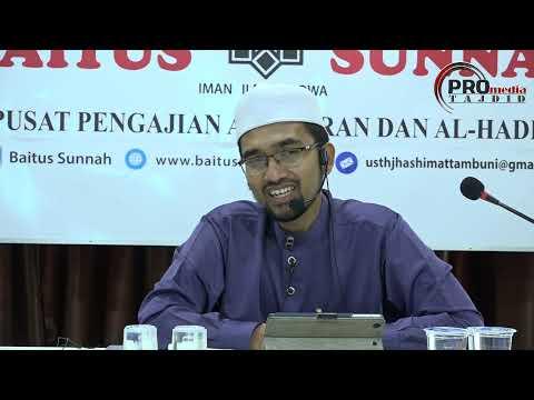 15-10-2017 Dr. Rozaimi Ramle: Pengajian Kitab Riyadhus Solihin (Hadis 12)