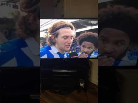 Huddersfield vs Leeds Michael hefele swears swearing in interview