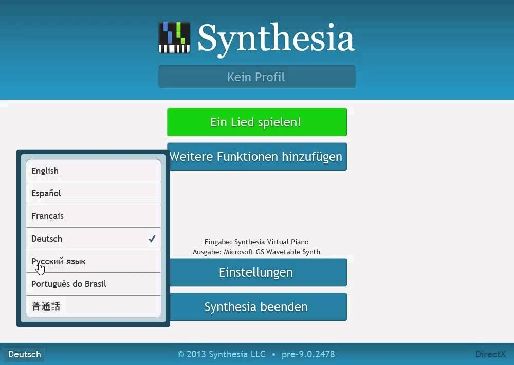 Synthesia in Seven Languages