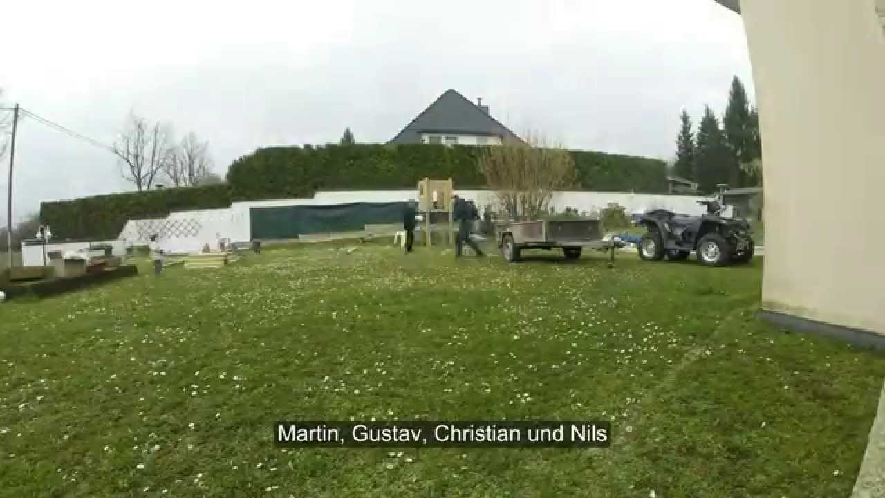 Klettergerüst Wicky : Klettergerüst traktor emsige paten auf dem