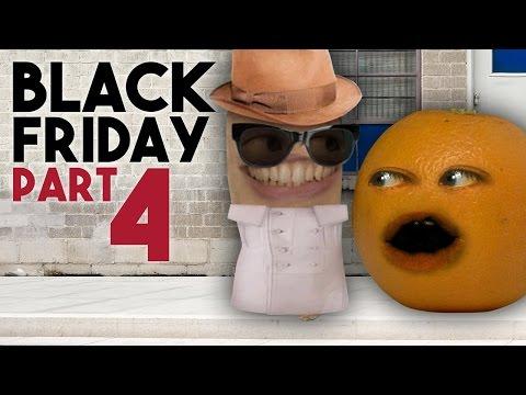 Annoying Orange - BLACK FRIDAY: DAY 4 (HAPPY THANKSGIVING!)