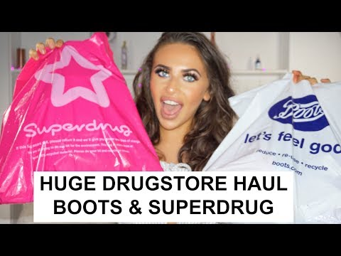 HUGE DRUGSTORE HAUL 2017 | BOOTS & SUPERDRUG