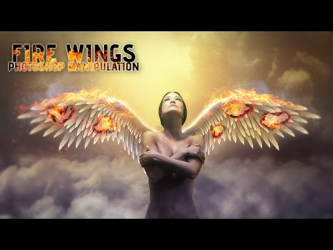 Fire Wings Effects - Photoshop Manipulation Tutorial
